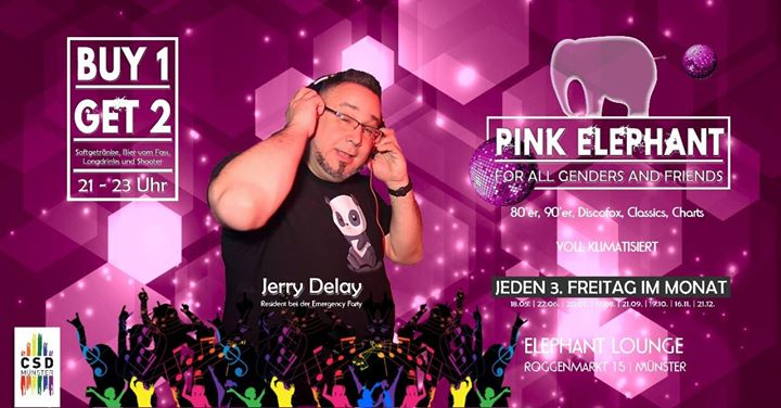 PINK Elephant – For all Genders and Friends