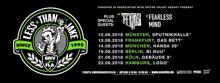 Less Than Jake – Münster, Sputnikhalle